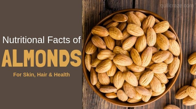 Nutritional facts of almonds