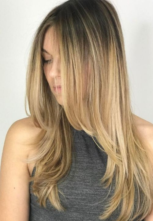 Layered Hair Look