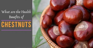 health benefits of chestnuts