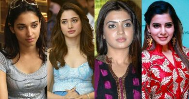Tollywood Actress With & Without Makeup