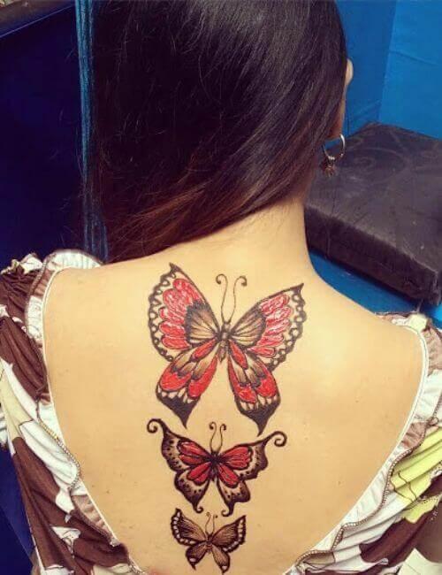 Black salve tattoo