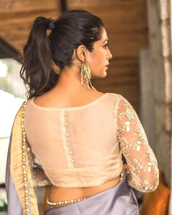 Full Length sleeve blouse designs