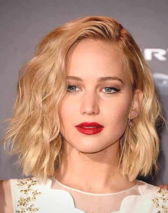 Jennifer Lawrence Hair Stlye