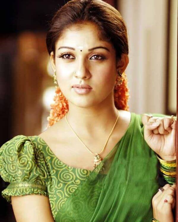 Nayanatara in Puffy blouse Designs