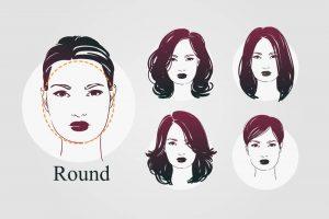 round-face-shape-illustration