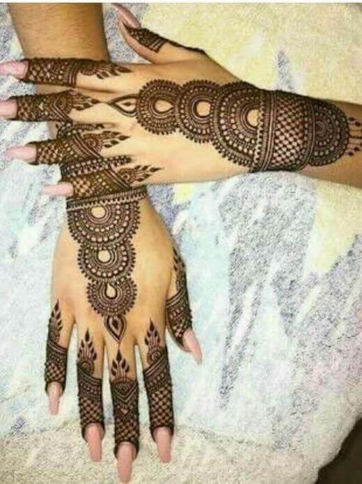 Beautiful Henna Mehndi