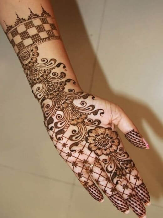 Beautiful henna mehndi deisgns for ramadan