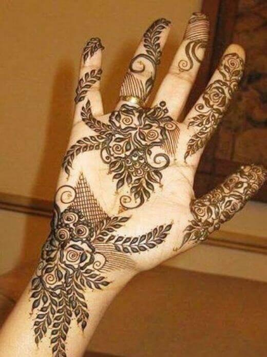 Elegant mehndi designs for eid