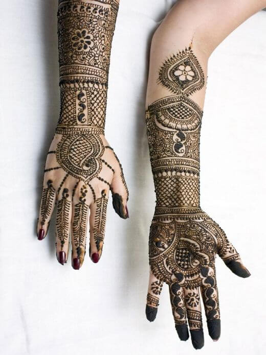 Latest Mehndi designd for ramadan