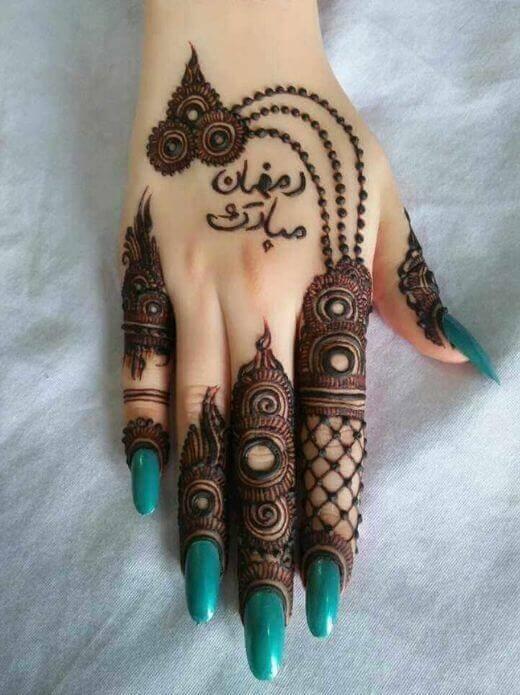 beautyfull mehndi on eid