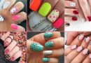 20 Adorable Polka Dot Nails Arts to Enhance the Beauty 2020