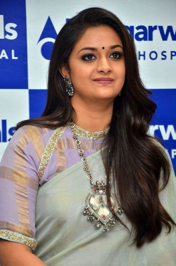 Keerthis Suresh at hospital opening cermony