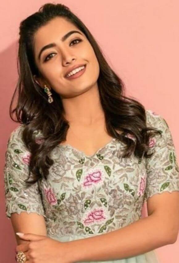 Rashmika Madanna in gown