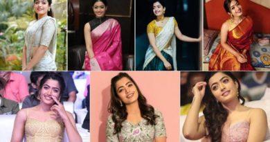 Rashmika Mandaana fashion