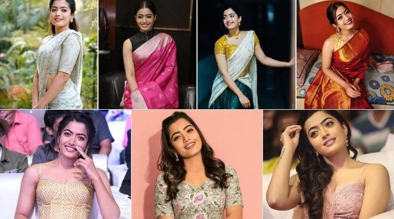 Rashmika Mandaana fashion
