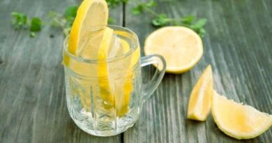 Lemon water when on empty stomach
