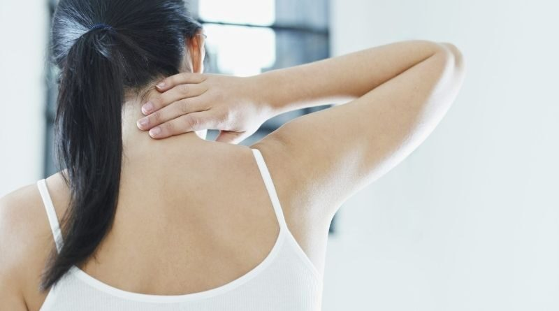 yoga posses for neck and shoulder pain