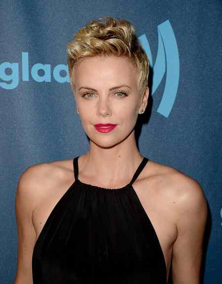 Charlize Theron Spiky Hairstyle