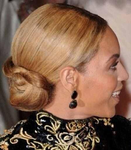 Classy Braided Classic Bun for Elegant Women