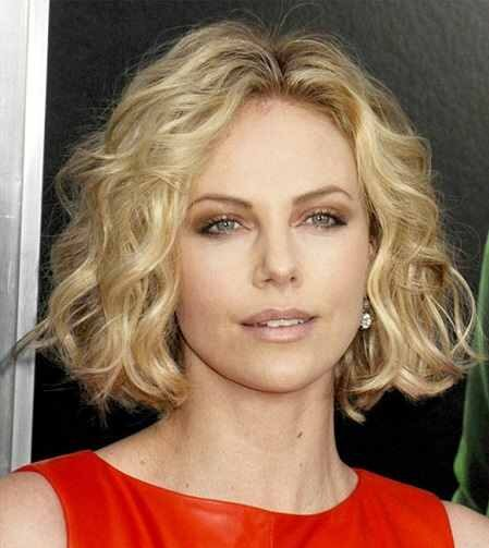 Short Wavy Hair with Blonde