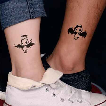 ELF Tattoo on Ankle