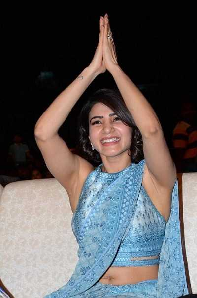 Samantha in O- Baby event