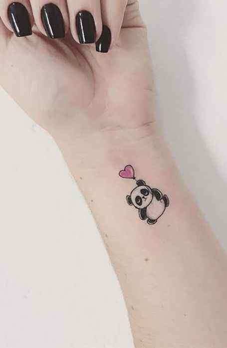 love teddy small tatto