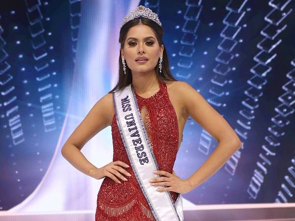 Andrea Meza- Crowned Miss Universe 2021