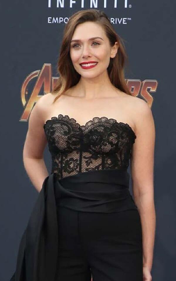 Hollywood Actress ELizabeth Olsen