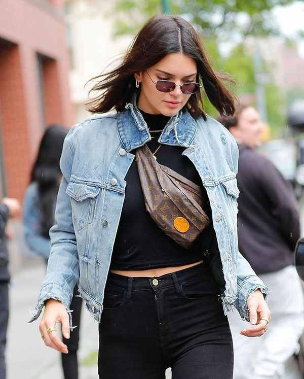 Kendall Jenner with Bum Bag