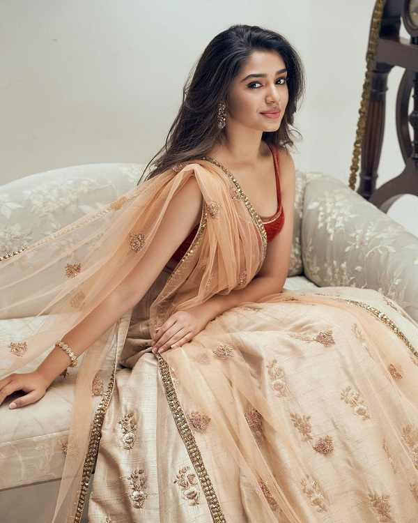 Tollywood actress Krithi Shetty