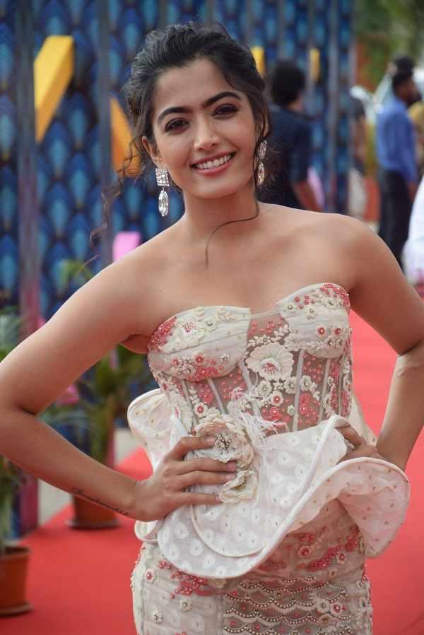 Tollywood actress Rashmika Mandanna