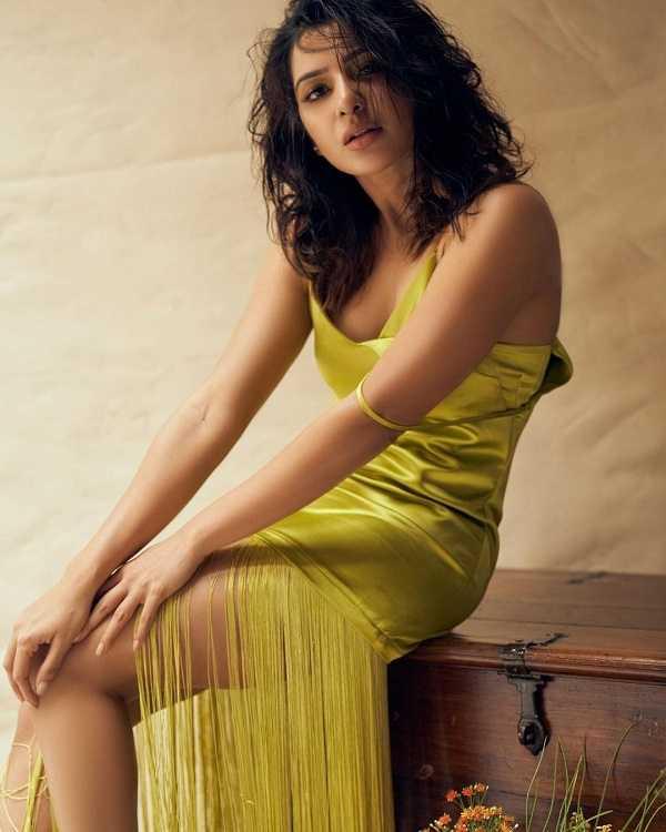 Tollywood actress samantha akkineni