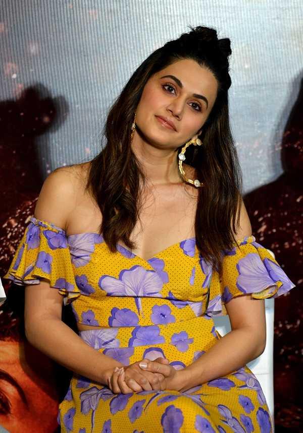 Bollywood Actress Tapsee pannu
