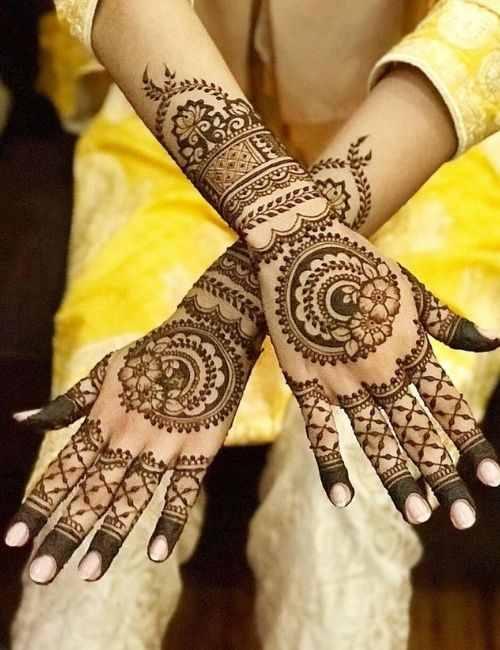 Jaali designs and floral bracelets